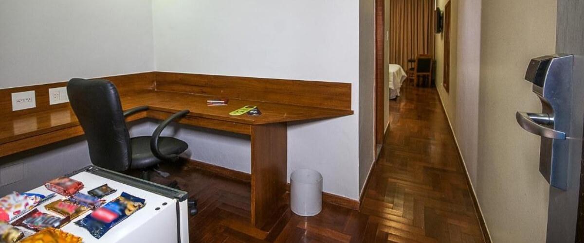 Quarto duplo - Serrano Hotel - Hotel e Eventos Corporativos em Juiz de Fora
