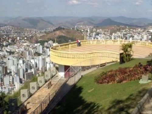 Atração Turística Juiz de Fora Serrano Hotel e Eventos morro do cristo